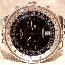 Breitling A23340 Montbrilliant Legende Chrono  Black Dial 47mm