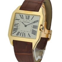 Cartier W2008751 SANTOS DUMONT - Large Size in Yellow Gold -...