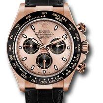 Rolex 116515LN pbk Daytona Everose Gold Leather Strap