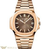 Patek Philippe Nautilus 18K Rose Gold Watch