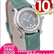Chopard 【ショパール】 ハッピースポーツ レディース 腕時計 27/8250-23 クォーツ 5Pダイヤモンド...