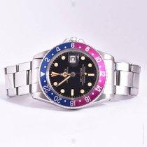 勞力士 (Rolex) GMT Master 1675 Gilt Violet Bezel Original Warranty