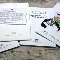 IWC kit warranty card booklet papers chrono portofino 3910