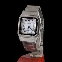 Cartier santos steel automatic men size