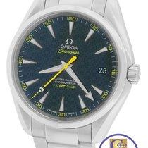 Omega Seamaster Aqua Terra James Bond 007 Spectre  Blue Watch