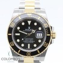 Rolex Submariner Steel & Gold 116613L NEW