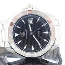 TAG Heuer Aquaracer Black Dial Calibre 5 Automatic Steel Mens...