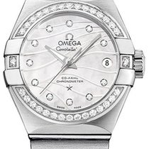 Omega Constellation Co-Axial Mother-of-Pearl Dial Ladies Watch...