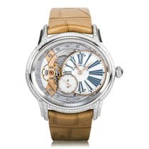 Audemars Piguet Millenary Ladies Hand Wound White Gold Diamond...
