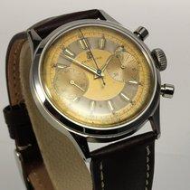 Breitling seltener großer Vintage Chronograph 38 mm, Ref. 777