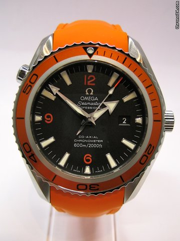 Omega Seamaster Planet Ocean NEU 45,5 mm  Orange