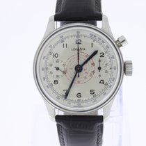 Lemania Vintage Chronograph Mono Pusher Oversize