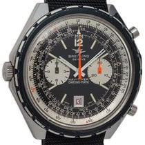 Breitling Stainless Steel Navitimer Chrono-Matic circa 1970s...