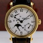 Patek Philippe Power Reserve Moon Phase 18K Yellow Gold