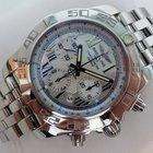 Breitling Chronomat B01 - Perlmutt-ZB - Stahlband -Box &...