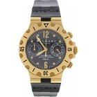 Bulgari Men's  Scuba 18K Yellow Gold Watch Chronometer...