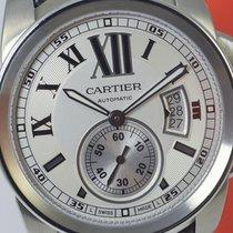 Cartier Calibre, large model 42mm, steel, ref.3389, UNWORN