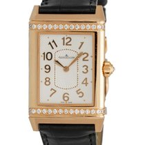 Jaeger-LeCoultre Reverso 18K Rose Gold Lady Ultra Thin Manual...