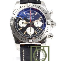 Breitling Chronomat 44 Airbone Chronograph Crocodile Strap NEW
