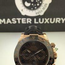 Rolex 116515 Daytona Everose Choco Dial Leather Strap