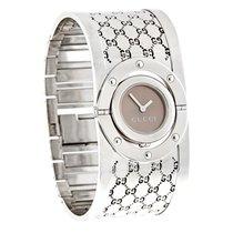 Gucci 112 Twirl Ladies G-Logo Swiss Watch YA112401