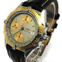 Breitling Chronomat Klassiker Goldlünette Ref 81950 Chronograp...