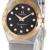 Omega Constellation Brown Dial DIA Women's Watch 123.20.24...