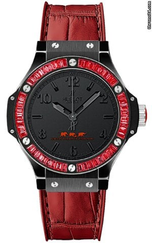 Hublot Big Bang Quartz Black Tutti Frutti 38mm