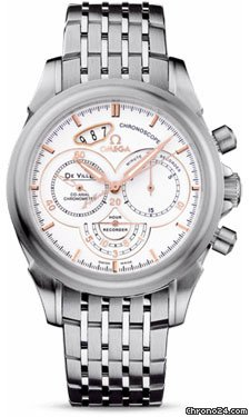 Omega De Ville Co-Axial Chronoscope 41 mm Stainless Steel