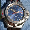 Squale Rambo Sub Professional 100 Mt. Con Bussola