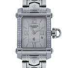Charriol Columbus CCSTRH Diamond Stainless Steel Wristwatch