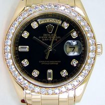 Rolex Masterpiece 39mm 18K Solid Yellow Gold Diamonds