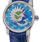 Ulysse Nardin Classico Jewelry Enamel Dial Diamond Blue...