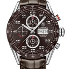 TAG Heuer Carrera Day Date Automatic Chronograph 43mm Mens Watch
