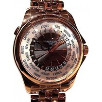Patek Philippe Complications 5130/1R 39.5mm White World Time...