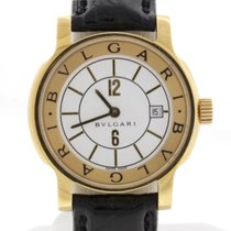 Bulgari Solotempo 18K Yellow Gold Ladies Watch Ref. ST29G...