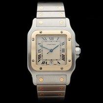 Cartier Santos Stainless Steel/18k Yellow Gold Unisex 187901