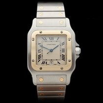 Cartier Santos Stainless Steel/18k Yellow Gold Unisex 187901