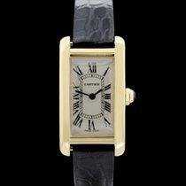 Cartier Tank American - Cartier - Ref.: 2482 - 18.Karat...