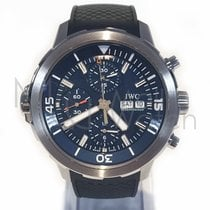 """IWC Aquatimer Chronograph Edition """"expedition Jacques Yves..."""