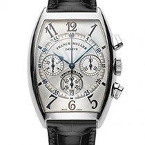 Franck Muller Chronograph White Gold 6850