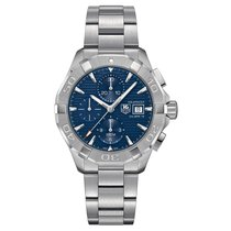 TAG Heuer Aquaracer 43mm Chrono Date Automatic Mens Watch Ref...