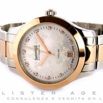 Eberhard & Co. Aiglon 35 in acciaio e oro rosa 18Kt...