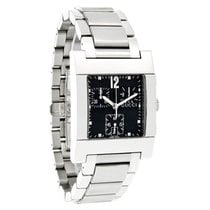 Gucci 7700 Series Mens Black Stainless Steel Swiss Chronograph...