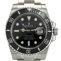 Rolex Submariner 116610LN Black Ceramic Bezel Men's Watch