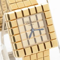 Chopard By De Grisogono Ice Cube Solid 18k Yellow Gold...