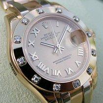 Rolex Masterpiece 80318 18k Yg Champagne Roman Dial Tridor...