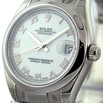 Rolex Datejust Stainless Steel White Dial 31mm Ref. 178240