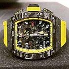 Richard Mille [NEW] RM 011 Fllyback Chronograph Yellow Storm -...