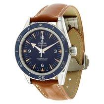 Omega Seamaster 300 Blue Dial Automatic Titanium Men's Watch